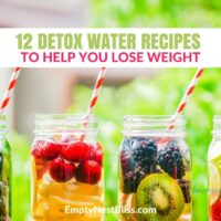 Detox Water Recipes: 12 Tasty Recipes for Weight Loss and Health